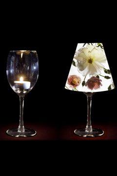 Fotisi über Weinglas